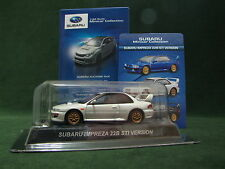 "Kyosho SUBARU IMPREZA 22B STI Version ""White"" 1:64 Minicar Collection From Japan"