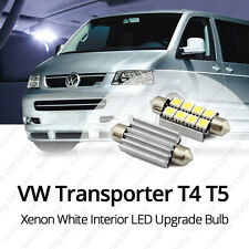X3 TRANSPORTER VW T5 MK5 5 T4 Xenon Blanco Interior LED Bombilla UPGRADE * Venta *