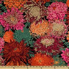 Cuarto Gordo Tela Kaffe Fassett Cotton Craft Quilting japonés chyrsanthemum