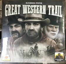 Great Western Trail Board Game New Sealed Stronghold Games Slightly Damaged Box