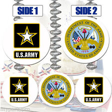 US ARMY COMBO HANGING DECORATIONS Party Supplies FREE SHIPPING NEW
