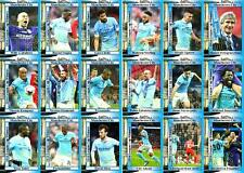 Manchester City 2016 Football League Cup final winners trading cards