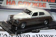 1:43 GAZ-M20 Pobeda taxi + magazine  #5 *marriage*
