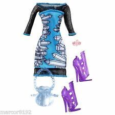 Monster High  Abbey Bominable Daughter of the Yeti Fashion Doll Outfit New