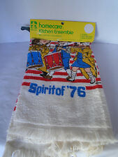1976 Riegal Homecare Spirt of 1976 Terry Cloth Towel, Pot Holder, & Dish Cloth