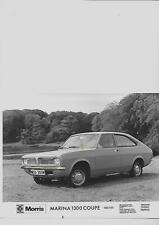 BRITISH LEYLAND MORRIS MARINA 1300 COUPE DELUXE PRESS PHOTO brochure related