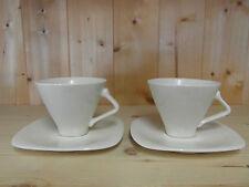 2 sets à café Ivory - ROYAL BOCH - Expo 58 - ETAT NEUF