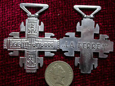 Replica Copy 'La Ferrea' Italian MVSN WW2 Medal Full size NO RIBBON