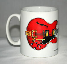 Guitar Mug. Noel Gallagher's 1960's Gibson ES-355 illustration.