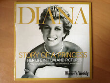 DIANA ~ STORY OF A PRINCESS ~ HER LIFE IN FILM & PICTURES ~ RARE AS NEW DVD