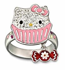 NIB SWAROVSKI CRYSTAL SANRIO HELLO KITTY SWEET RING 1120604 SIZE 50 * 5 MSRP $80