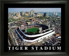 DETROIT TIGERS @ OLD TIGER STADIUM  22X28 FRAME
