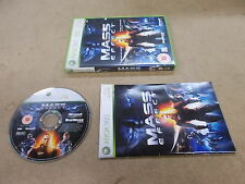 Xbox 360 Pal Game MASS EFFECT with box Instructions