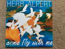 Rare Herb Alpert Come Fly With Me 2015 Promo CD