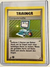 German TRAINER COMPUTERSUCHE (Computer Search) 1st Edition 71/102 Rare NM/MINT
