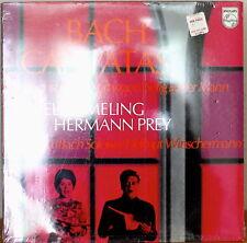 BACH: Cantatas-SEALED1972LP DUTCH IMPORT ELLY AMELING/HERMANN PREY