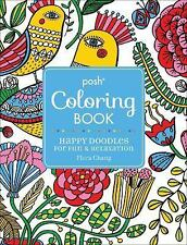 Posh Adult Coloring Book - Happy Doodles For Fun And Rela (2015) - New - Tr