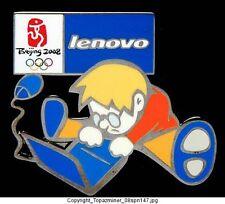 OLYMPIC PIN BEIJING 2008 LENOVO SPONSOR COMPUTER TECH