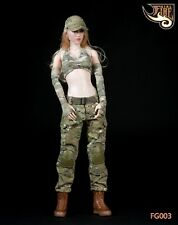 "Fire Girl Toys FG003 12"" Soldier Action Figure Clothing Set 1/6 Sniper Clothes"