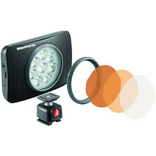 Manfrotto MLUMIEMU-BK Lumimuse 8 On-Camera LED Light (Black) EU seller No Fees