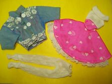 Vtg Hasbro 80s MAXIE Doll Clothes Lot  LOOKIN' SMART Dress Set