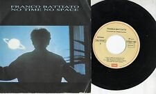 FRANCO BATTIATO in SPAGNOLO disco 45 MADE in SPAIN No time space  + El Animal 85