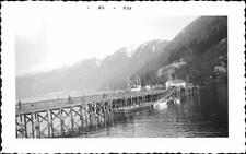 1958. Fishing Pier. Horseshoe Bay, West Vancouver, Canada qq350