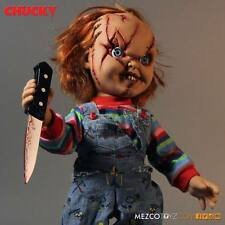 "Mezco: Talking Chucky Action Figure ( 15"" ) No hot toys /neca / enterbay"