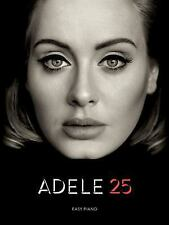 Adele 25 EASY Piano Sheet Music Lyrics ~ new album ~ Hello, Remedy, I Miss You ~