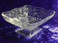 Beautiful Pressed Glass Vintage Candy/ Trinket - Dish Great Gift