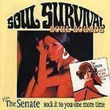 Soul Survival Soul Sounds/The Senate Sock It To You One More Time CD NEW SEALED