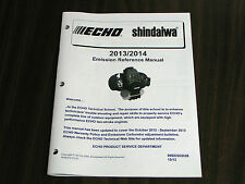 ECHO 2013/2014 EMISSIONS REFERENCE MANUAL - ALL ECHO ENGINE MODELS #99922202028