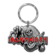 OFFICIAL LICENSED - IRON MAIDEN - NUMBER OF THE BEAST KEYCHAIN METAL KEYRING