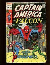 Captain America #137 GVG Buscema Colan Falcon Spider-Man Nick Fury Sharon Carter