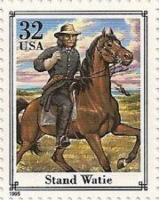US 2975l Civil War Stand Watie 32c single MNH 1995