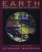 Earth: Portrait of a Planet by Marshak, Stephen, Good Book