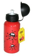 Bugzz Kids Ladybird Bug Aluminium Sport Drink Childrens Childs Red Water Bottle