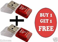 QUANTUM QHM5570 CARD READER MICRO SD/TF 1 YEAR WARRANTY BUY 1 GET 1 FREE