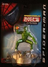 Spider-Man the Movie Green Goblin Bump and Go Cycle by ToyBiz NIP