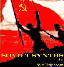 Soviet Russian Synths & Drums Producer Sample WAV CD ROM Original Samples