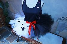 Run Disney Princess Marathon Tutu Skirt Cruella DeVil Puppy Running Ladies s m l
