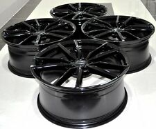 "19"" 2016 GOLF 7 STYLE BLACK WHEELS RIMS FIT VW GOLF MK5 6 7 JETTA SCIROCCO 5487"