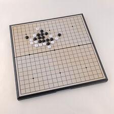 HOT Foldable Game of Go Go Board Game WeiQi Baduk Full Set 18x18 Study Size