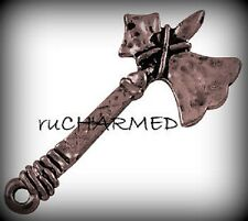 12pc Vintage Style Copper AX Hatchet Charms -Outdoors TooLs MeDiEvaL