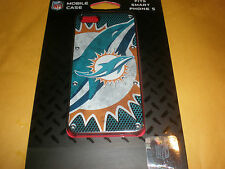MIAMI DOLPHINS MOBILE PHONE SMART PHONE 5 CASE NEW IN PACKAGE