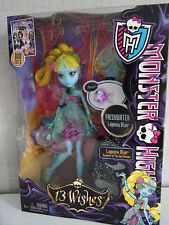 Monster High 13 wishes-Lagoona Blue-nuevo & OVP