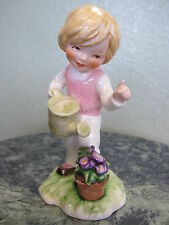 Goebel 11 285 12 TMK6 1978 Lore Blumenkinder Girl Watering Flowers 4 5/8""