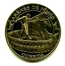 30 NIMES La corrida, Couleur or, 2015, Monnaie de Paris