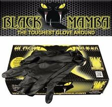 Black Mamba Disposable Nitrile Glove - M Size 1 BOX 100pcs/50pr. Car Detailing