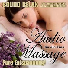 Erotik-Hörbuch - Sound Relax Audio Massage für die Frau OVP